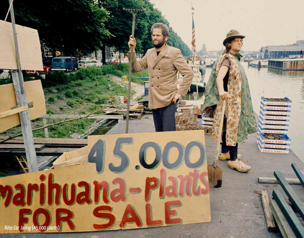 Kees Hoekert and Provo Jasper Grootveld of the Lowland Weed Company