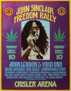 John Sinclair Freedom Rally poster