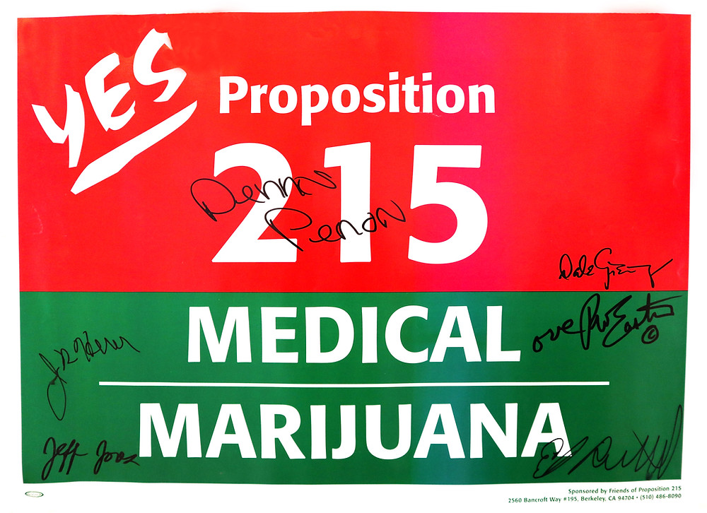 Signed Prop 215 Poster