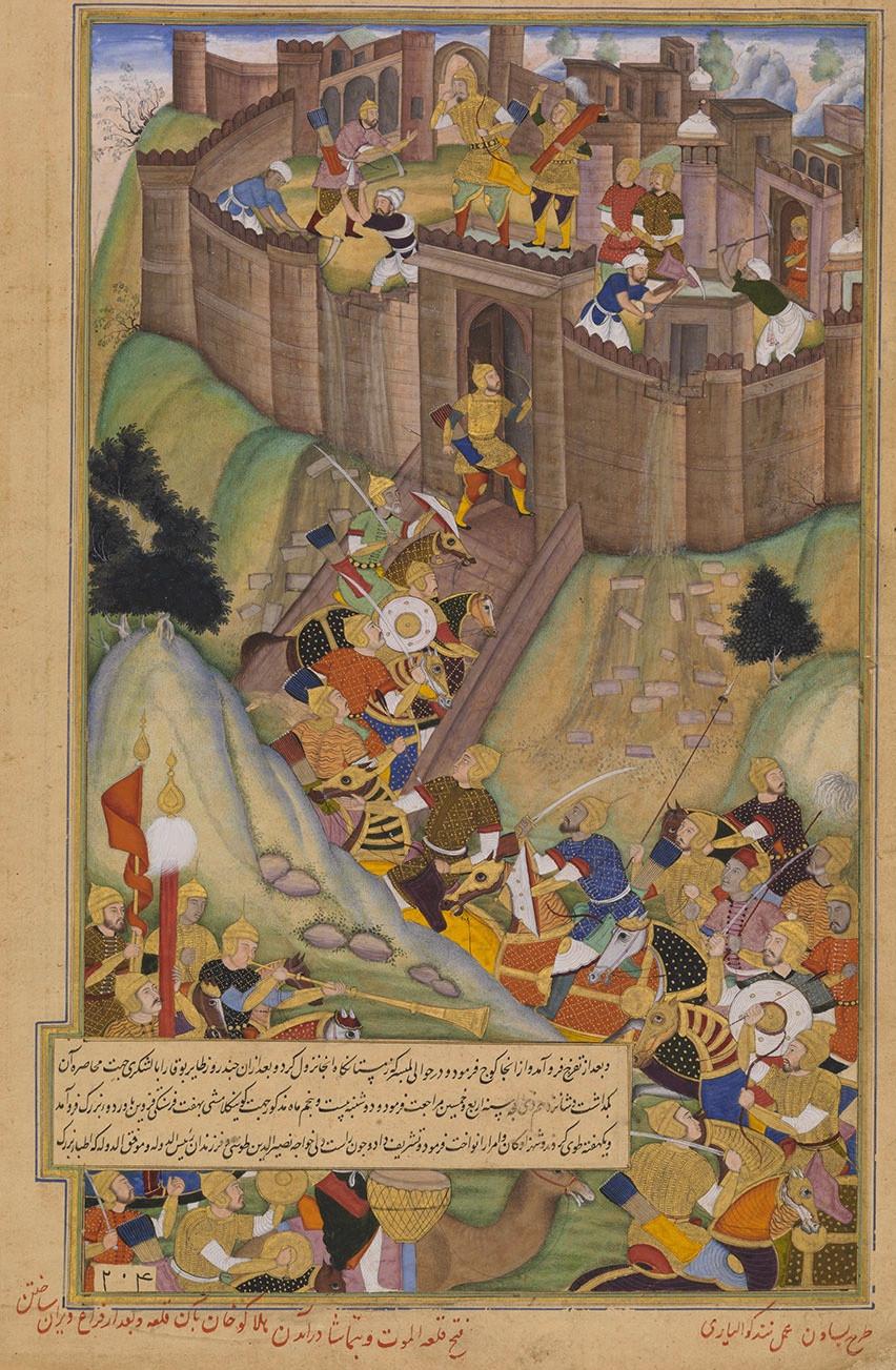 The Hashashin at Alamut Castle