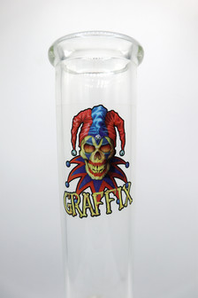 Early Model Glass Graffix Bong