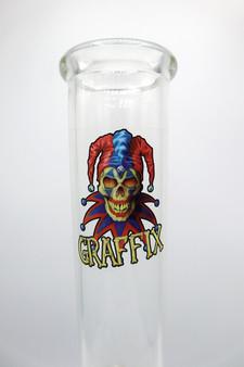 Early Model Glass Graffix Bong