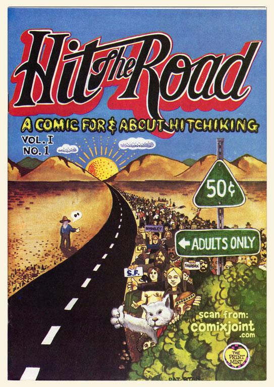 """Hit the Road"" comic #1 by Pat Ryan"