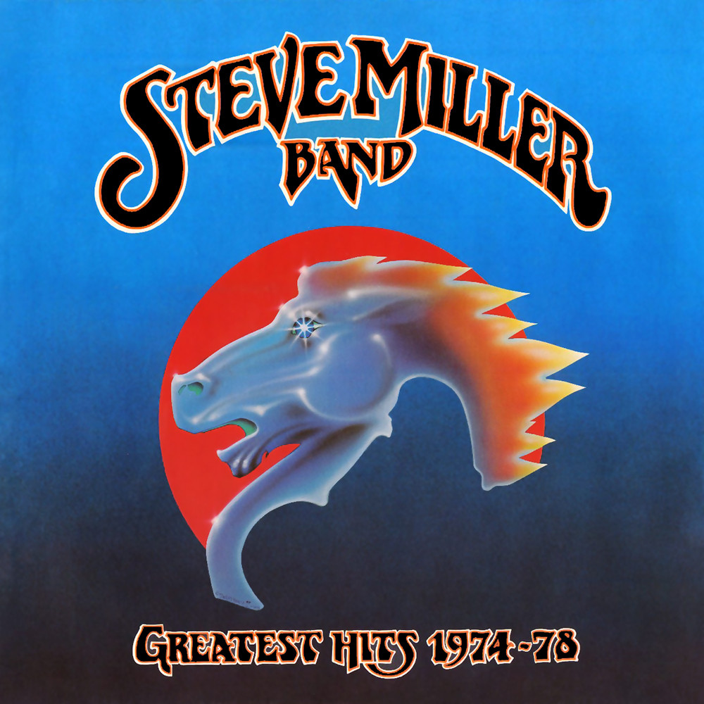 Steve Miller Band Greatest Hits (lettering by Pat Ryan)