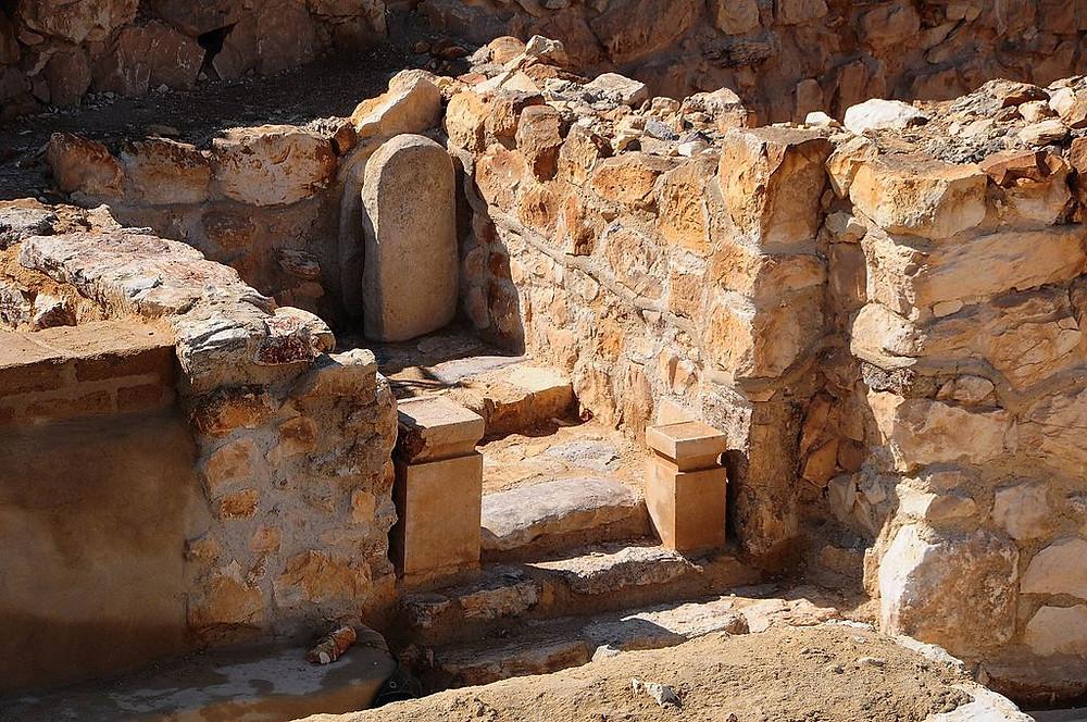 Temple of Tel Arad, Israel (Sarah Murray)