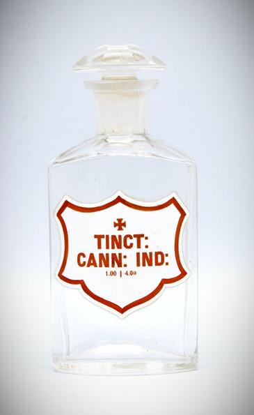 Cannabis Indica Tincture Jar