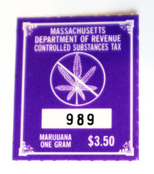 Massachusetts Marijuana Tax Stamp