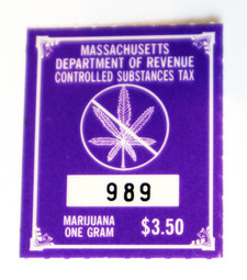 Massachusetts Marijuana Tax Stamp