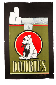 """Limited Edition """"Doobies"""" Lithograph Print"""
