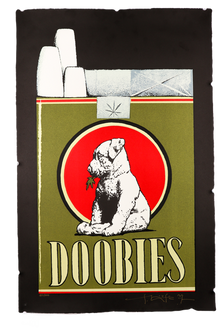 "Limited Edition ""Doobies"" Lithograph Print"