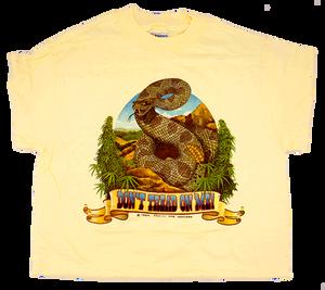 """Don't Tread on Me"" t-shirt. Design by Pat Ryan."