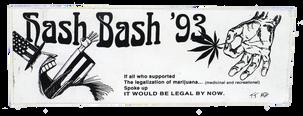 Hash Bash '93 sticker [3]