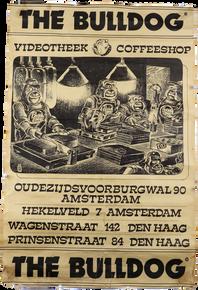 Bulldog Coffeeshop Promo Poster