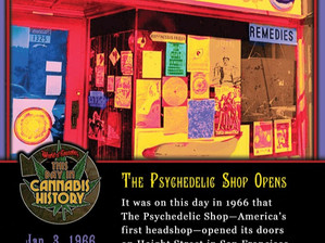 Jan. 3, 1966 - The Psychedelic Shop Opens on Haight Street