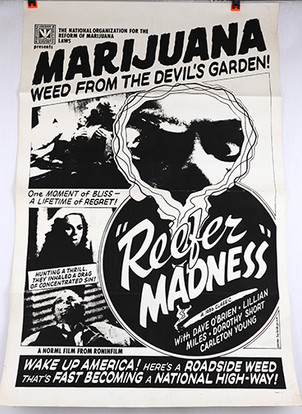 NORML Reefer Madness poster