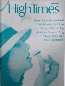 High Times Magazine - Premiere Issue