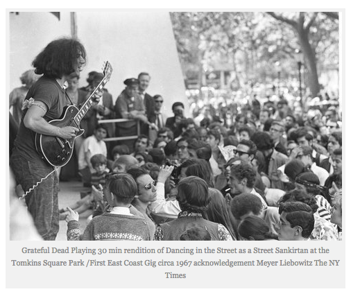 The Grateful Dead's first NY performance - Tompkins Sq. Park, 1967