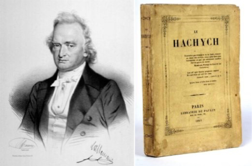 Dr. Francois Lallemand and his book Le Hachych.