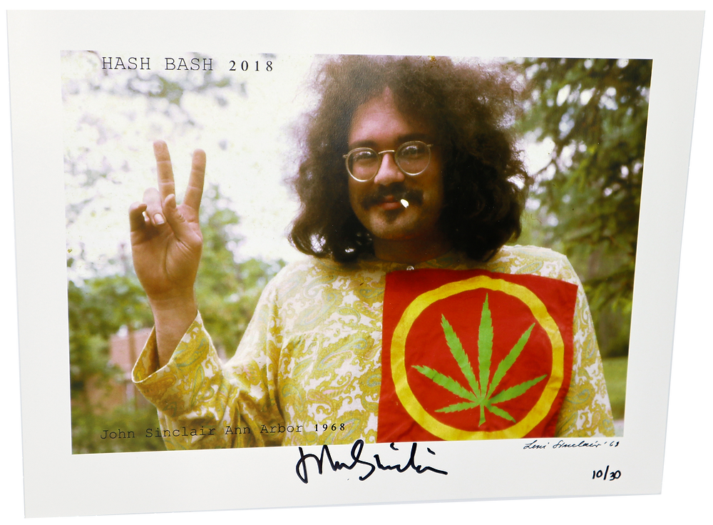 Signed/numbered photo of John Sinclair [7]
