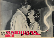 "John Wayne ""Marijuana"" Movie Poster (Spanish)"