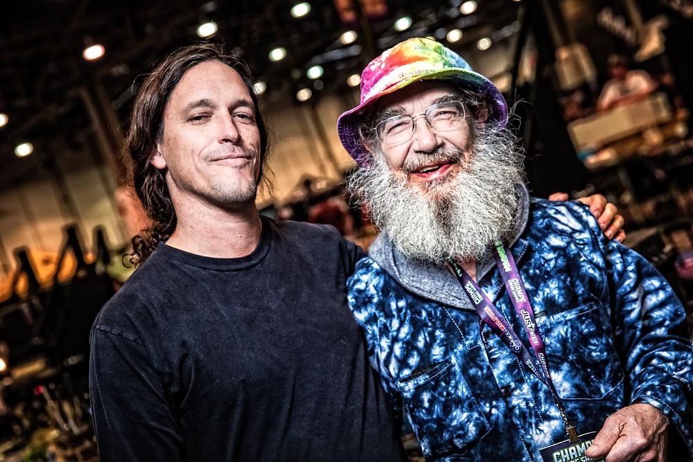 Jason Harris and Bob Snodgrass. photo by sly vegas