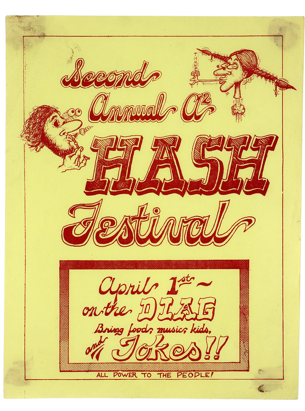 2nd Annual Hash Festival (Bash) flyer - 1973 [1]