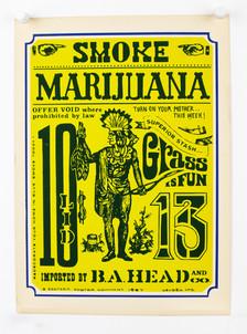 """Smoke Marijuana"" Flyer"