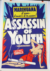 """Original """"Assassin of Youth"""" Movie Poster"""