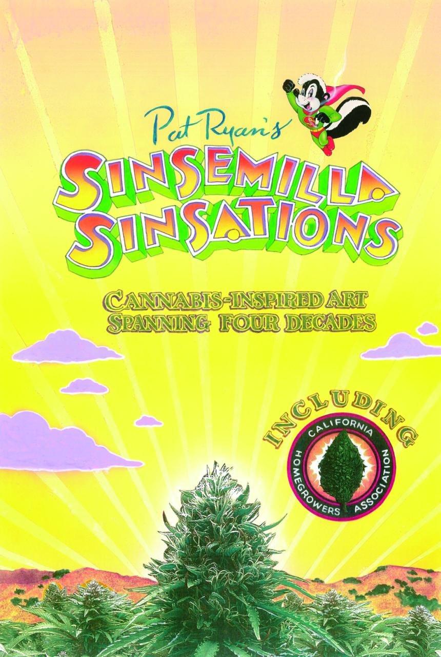 Pat Ryan's Sinsemilla Sinsations postcard book.