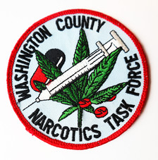 Washington County Narcotics Task Force Patch