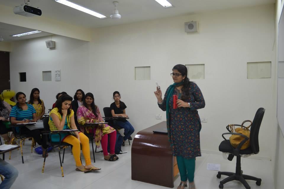 Priya teaching