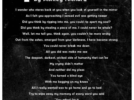 Poem | by Ashley Richard