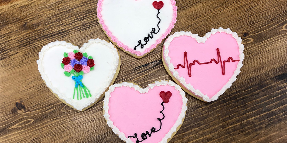 Valentine Cookie Decorating - Kids