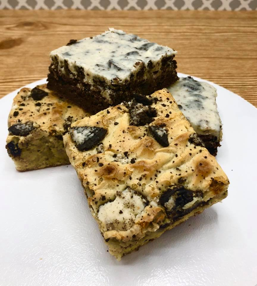 Cookies and Cream Brownies and Blondies