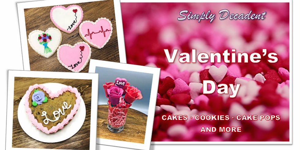 Valentine's with Simply Decadent