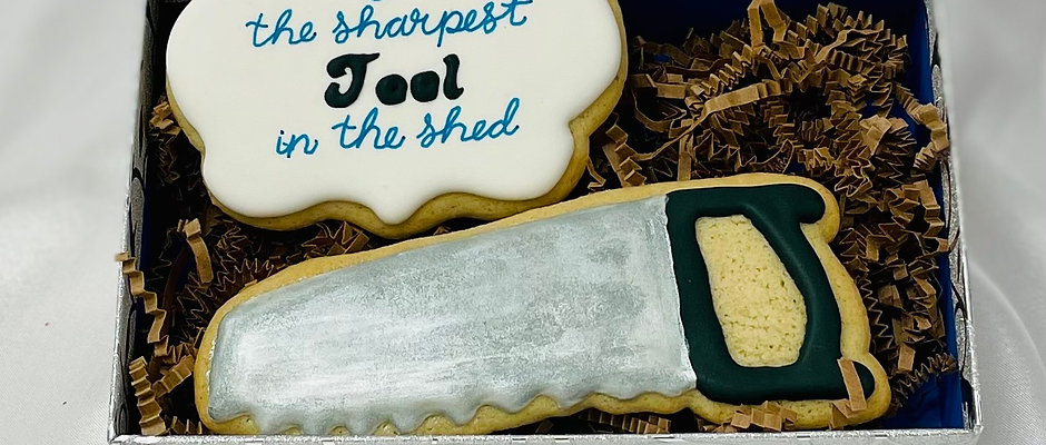 """""""Sharpest Tool in the Shed"""" Father's Day Cookies"""
