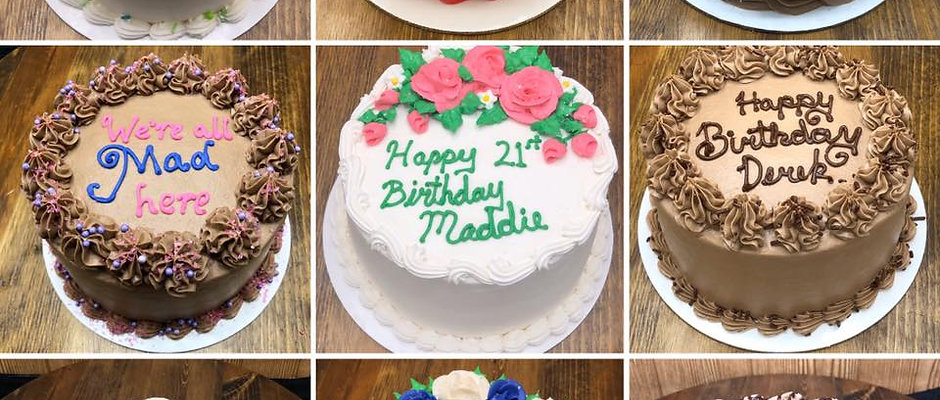 Lemon Raspberry/Blueberry At Home Birthday Cake