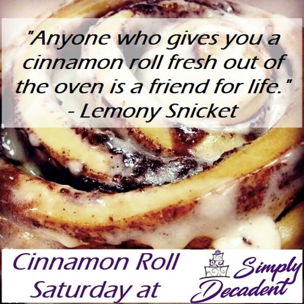 Cinnamon Roll Saturday
