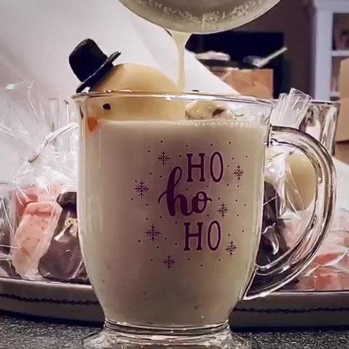 Snowman Hot Cocoa Bombs