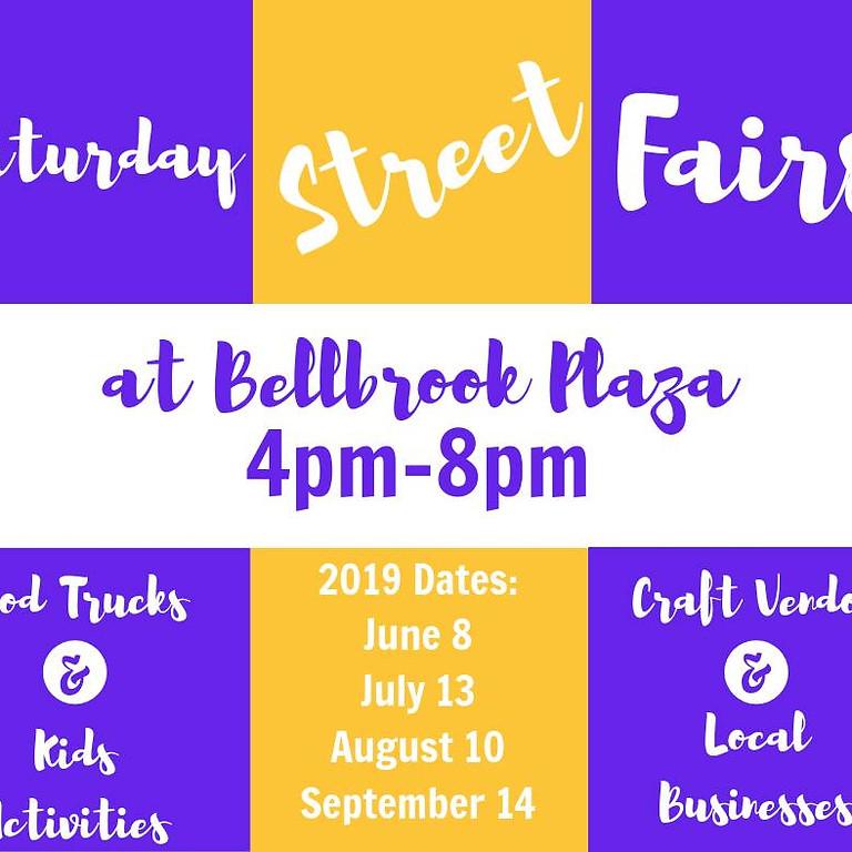 Saturday Street Fair at Bellbrook Plaza