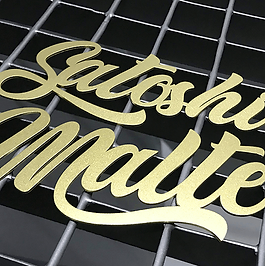 Corte Laser carteles letras letreros metal