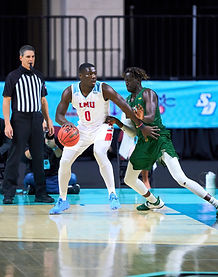 3-5-21 WCC Tourney LMU Lions- University of San Francisco Dons Gallery