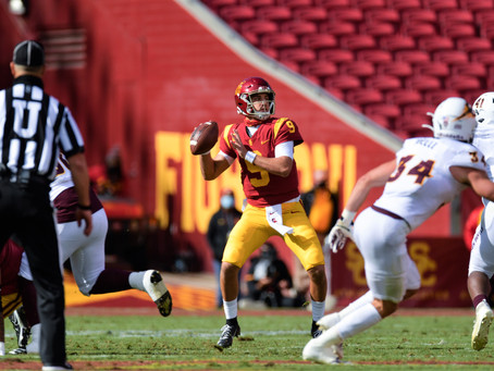 Trojans Rally Back to Torch the Sun Devils 28-27