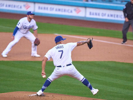 Julio Urias Gets Grand Lux Of Run Support