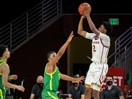 USC bounces back after losing to Arizona to beat Oregon 72-58