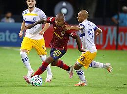 7-27-20 MLS Tournament Real Salt Lake-San Jose Earthquakes
