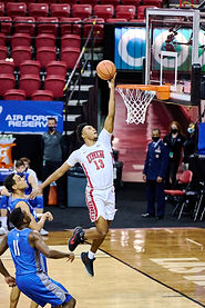 3-10-21 Mountain West Tourney UNLV Runnin' Rebels-Air Force Falcons Gallery