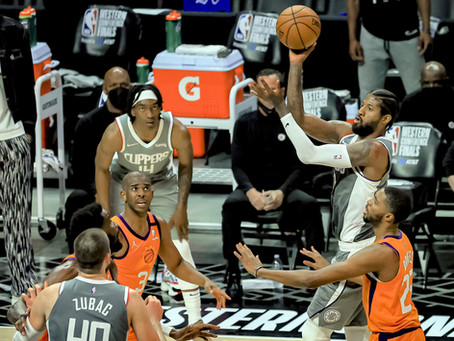 Suns  hang on to beat the Clippers 84-80 in Game 4 of the Western Conference Finals