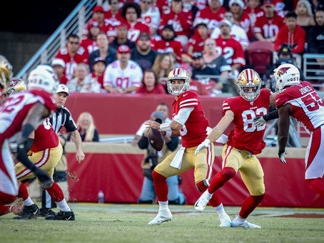 49ers hold on to beat the Cardinals 36-26 at Home