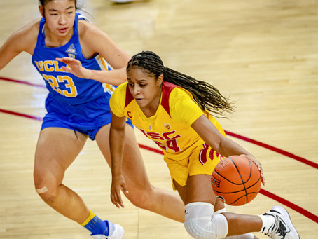 UCLA Scores 21 points off turnovers to beat USC 73-52